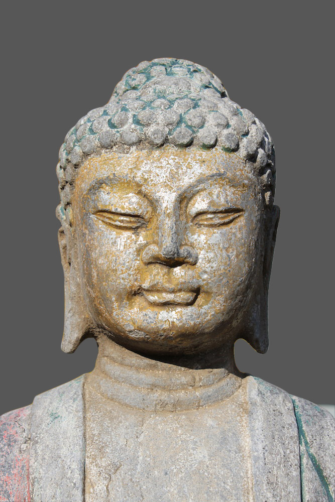 Garten Buddha Figur China Tibet Skulptur Budda Statue